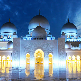 Sheikh Zayed Grand Mosque by Yasir Saeed - Buildings & Architecture Other Exteriors (  )
