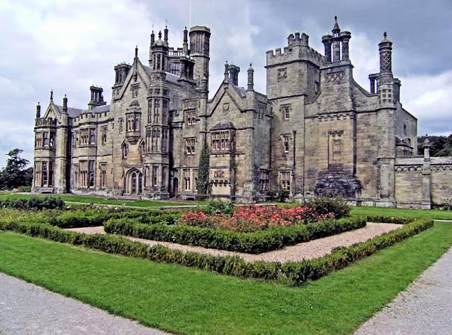 Margam Castle a Tudor Gothic House.png