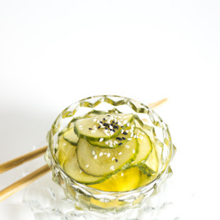 Japanese Quick Pickled Cucumber.