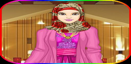 Hijab habillage et maquillage captures d'écran