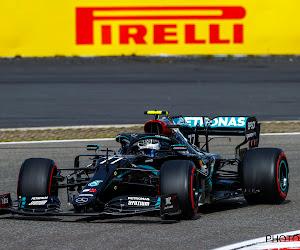 Valtteri Bottas op de pole van start op de Nürburgring, Mercedes blijft met twee voor Verstappen