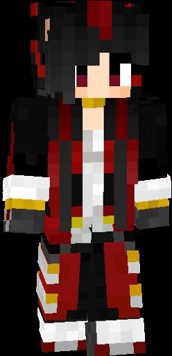 Shadow Fan Girl Slim Nova Skin - Minecraft namemc skins