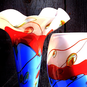 Festival Glass-vlr by Jim Johnston - Artistic Objects Glass