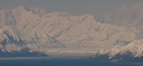 Photo: Hubbards Glacier - view from plane