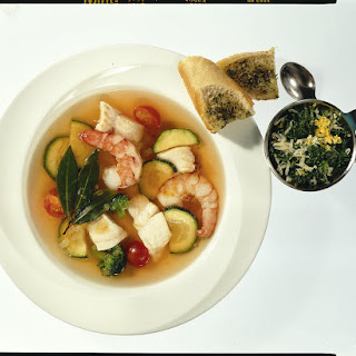 Fish and Prawn Soup.