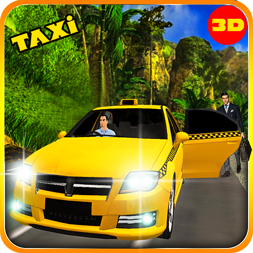 Incredible Hill Taxi Drive: Modern Taxi Driver