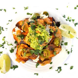 Vegan Sweet Potato Nachos.