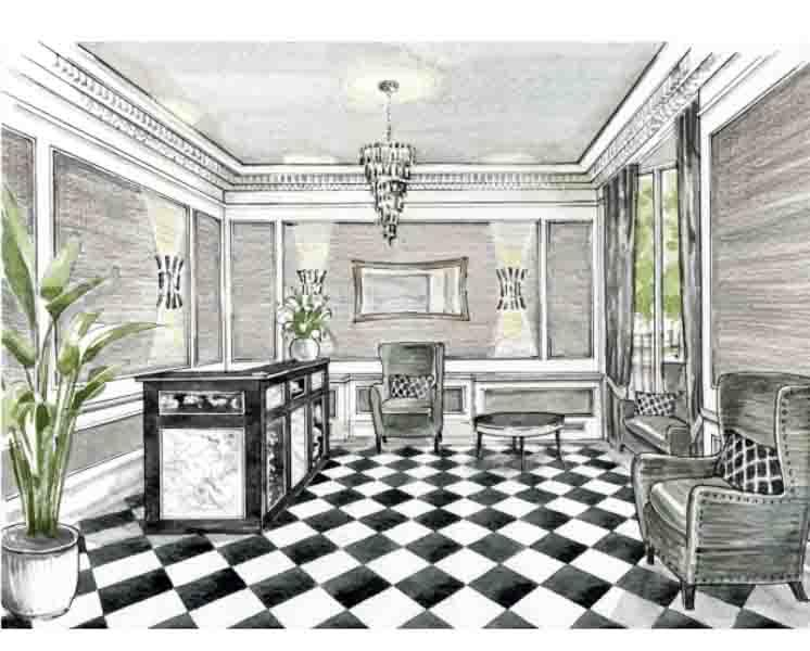 Interior design drawing tutorial android apps on google play for Interior decoration tutorial
