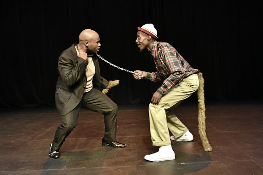 Subversive storytelling: A scene from Kgafela Oa Magogodi's new play Chilahaebolae which is on at the Barney Simon Theatre at the Market Theatre. Picture: SUPPLIED
