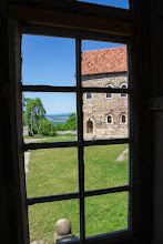 Photo: the view outside to Thuringia - at the castle Lohra for the #windowwednesday today, in this week with specialguest +Don Spennerand the great +#Window Wednesday-Team.