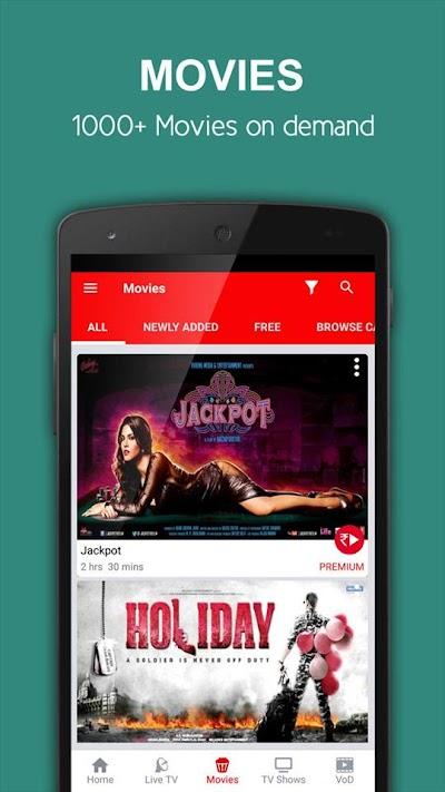 nexGTv HD:Mobile TV, Live TV APK Download - Apkindo co id