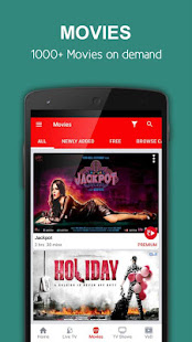 App nexGTv HD:Mobile TV, Live TV APK for Windows Phone