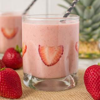 Strawberry Almond Protein Power Smoothie
