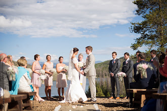 Photo: August Wedding- Woodsie- ceremony site Rachel Beckwith Photography