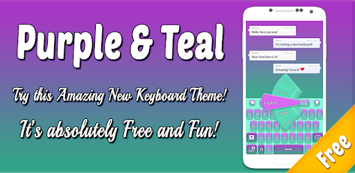Purple and Teal Theme app (apk) free download for Android/PC/Windows screenshot
