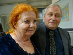 Photo: Charlotte Pohl und Anton Cupak bei der Eröffnung (26. Septemer 2013). Foto: Peter Skorepa