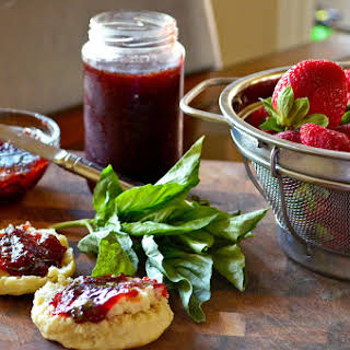 Strawberry-Basil Jam.
