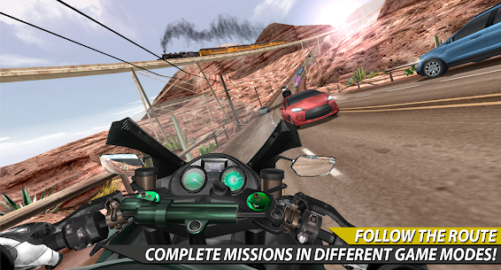 Moto Rider In Traffic 1.0.8.4 Android Mod APK 1