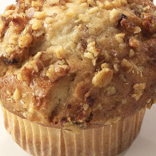 Carrot and Walnut Muffins.