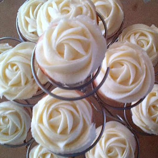 Very Vanilla Mini Cupcakes.