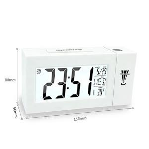 Ceas cu proiectie, cu alarma, termometru si control vocal
