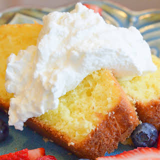 Homemade Fresh Whipped Cream.