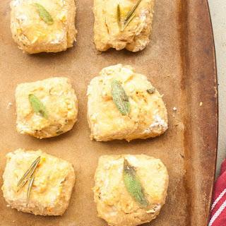 Simple Parmesan Herb Biscuits.