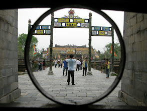 Photo: HUE - na cisarskom dvore / Imperial Enclosure