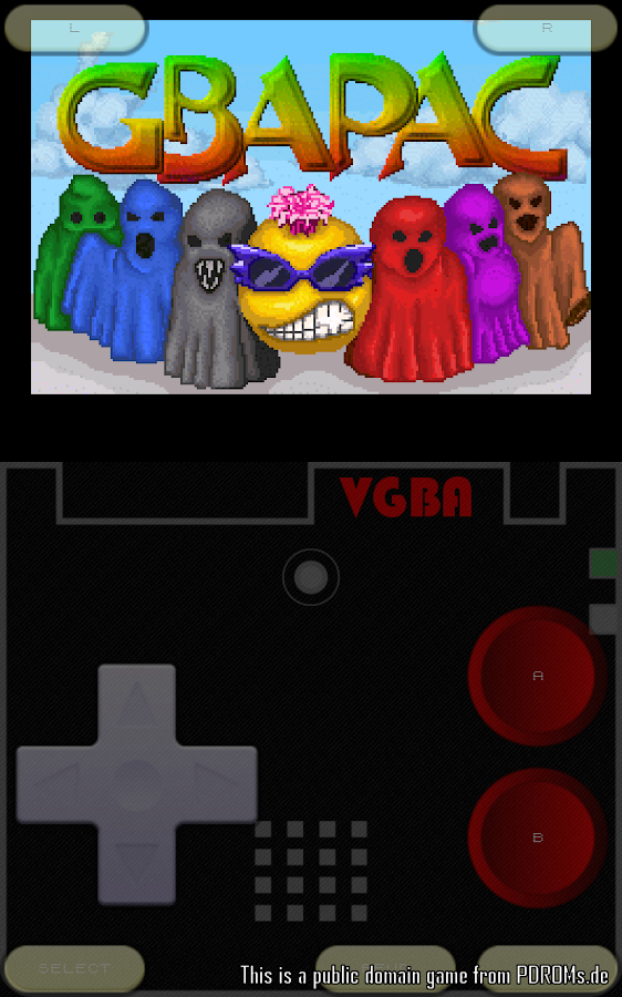 VGBAnext - GBA / GBC Emulator- screenshot