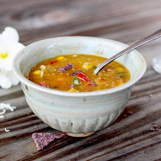 Mexican Style Split Pea Soup