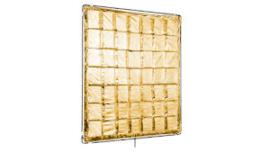 4x4ft Gold Reflector (Slip On Shiny-Board)