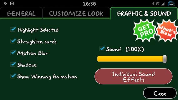 Classic Klondike Solitaire 3D screenshot 07