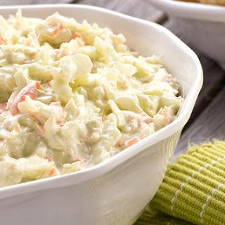 Best Creamy Coleslaw