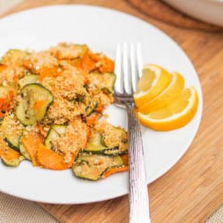 Vegan Zucchini and Squash Gratin {Gluten-Free}