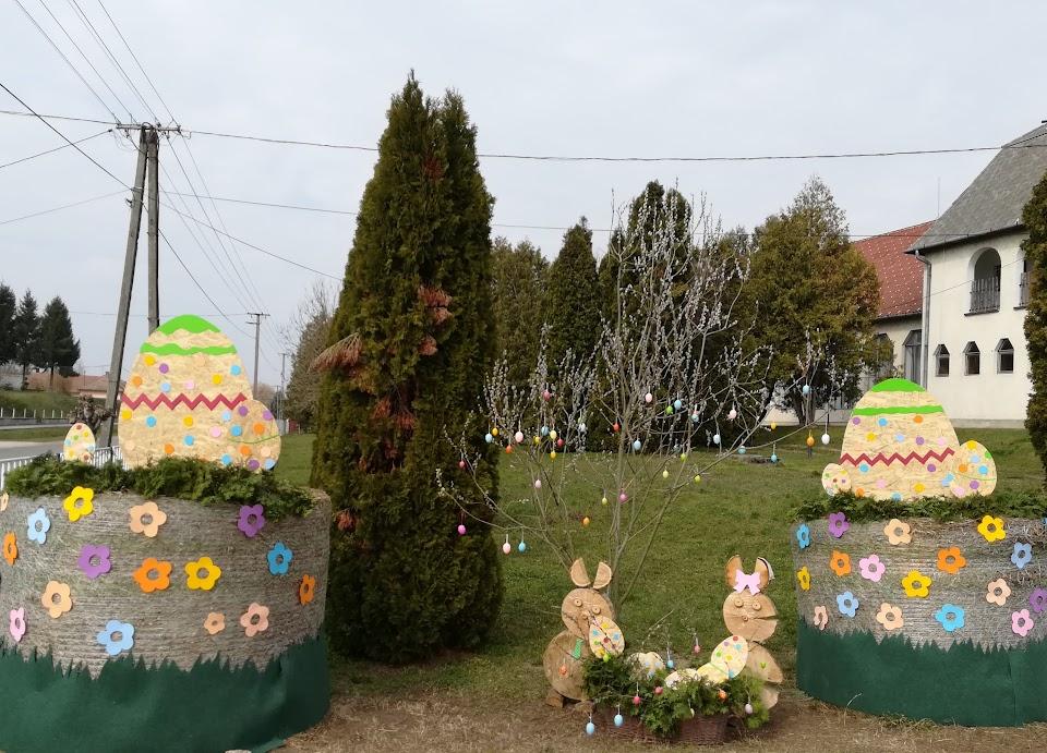 Húsvét az Önkormányzat udvarán 2018.