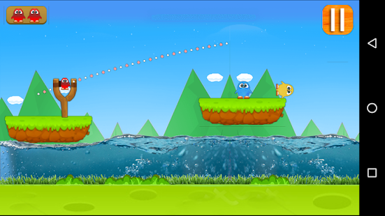 Angry Parrots - Slingshot Game! Screenshot