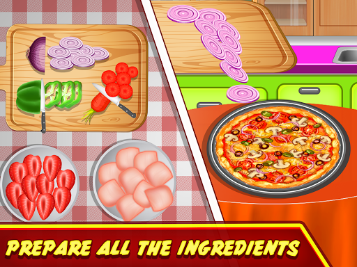 Pizza Maker Kitchen Cooking Mania android2mod screenshots 2