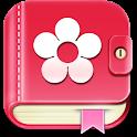 生理日・排卵日予測 ♥  アプリ無料 避妊 妊活 基礎体温 icon
