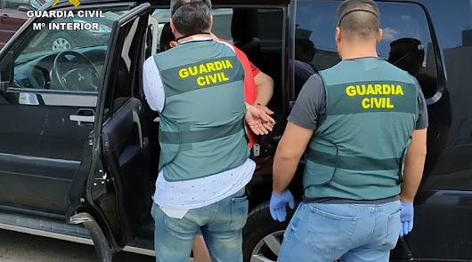 Detienen en Olula del Río a un peligroso delincuente reclamado por la Justicia