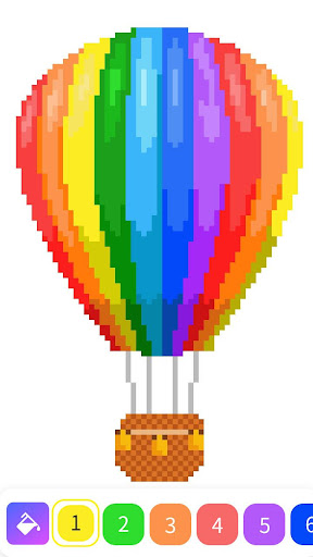 Pixelz - Color by Number Pixel Art Coloring Book for PC