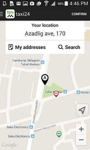 Taxi24 - заказ такси в Баку