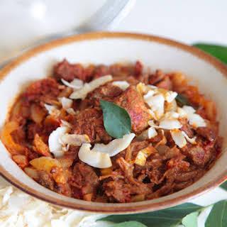 Kerala Lamb Curry.
