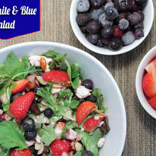 Red, White and Blue Salad Recipe