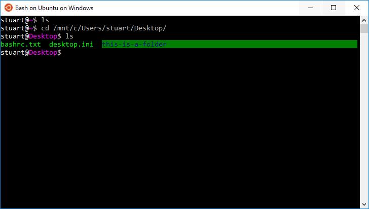 Fix Font Colors In Windows 10 Bash | Programster's Blog