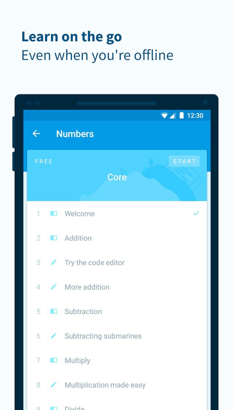 Encode: Learn to Code Screenshot 4