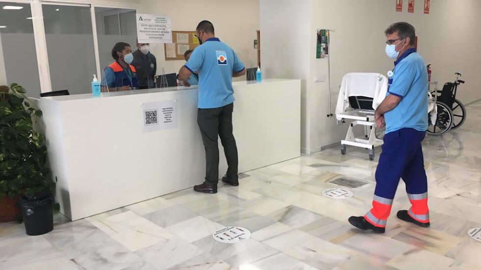 Nuevas instalaciones sanitarias en Roquetas.