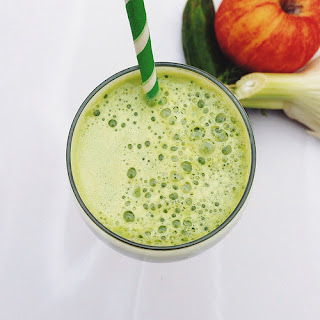 Fall Cleanse Green Juice.