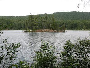 Photo: Day 7: Isolated island in Mountain Lake. It's 4 miles long, so there were several islands.