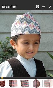 Nepali Topi Photo Editor – Dhaka Topi - náhled