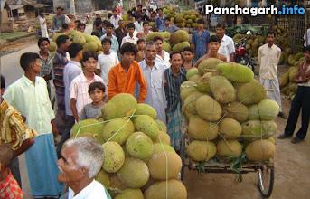 Photo: Jack fruit's market in the villages